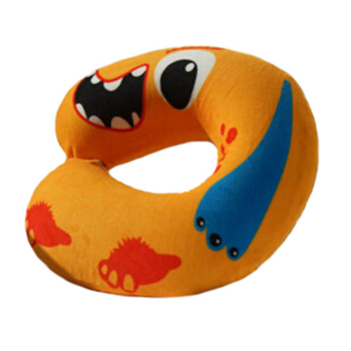 Healthy Neck Pillow Detachable U-Shape Pillow Home Office Neck Protector Monster