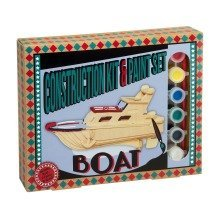 Boat Construction Kit and Paint Set