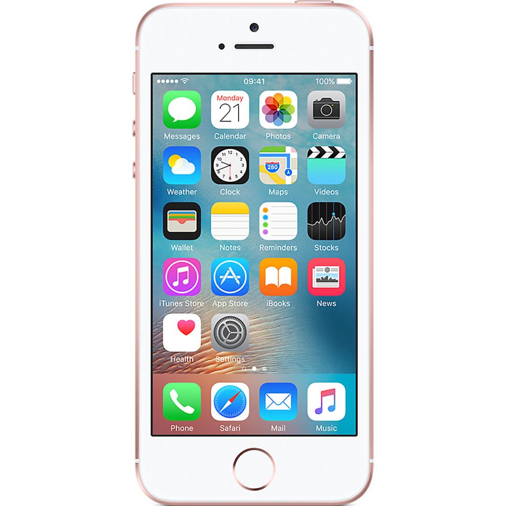 O2, 32GB Apple iPhone SE - Rose Gold