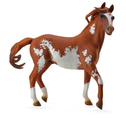 CollectA 1:12 Mustang Stallion ? Chestnut Overo
