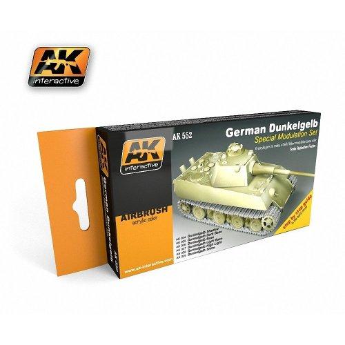 Ak00552 - Ak Interactive Set German Dunkelgelb Modulation
