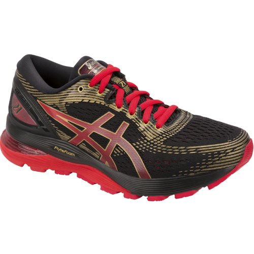 Asics Gel-Nimbus 21 1012A235-001 Womens Black running shoes