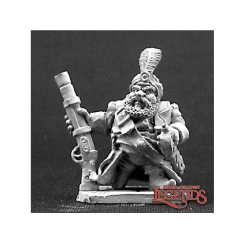 Reaper Dark Heaven Legends 03241 Aroudj Firebeard Dwarf Pirate