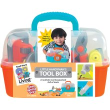 Small World Toys Tool Box 17 Pc-Little Handyman's Tool Box