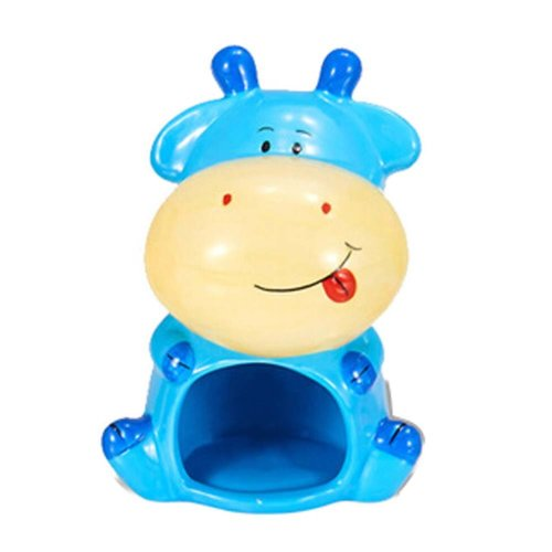 Cute Dairy Cow Shape Anti-bite Cool Hamsters Habitat for Summer Style