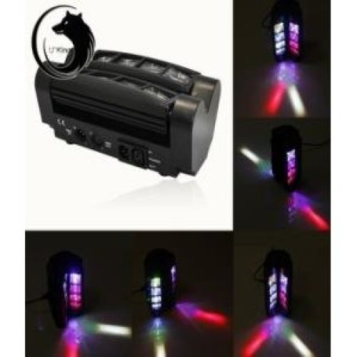 4x LED RGBW Spider Moving Head DMX Stage Beam Lighting Disco Party KTV