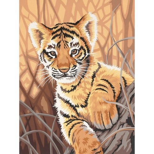Dpw91420 - Paintsworks Learn to Paint - Tiger Cub