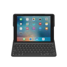 Logitech Create Smart Connector QWERTY Spanish Black mobile device keyboard