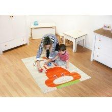 Little Helper Childrens Rug & Play Mat, Bunny Rabbit Design 100x150cm