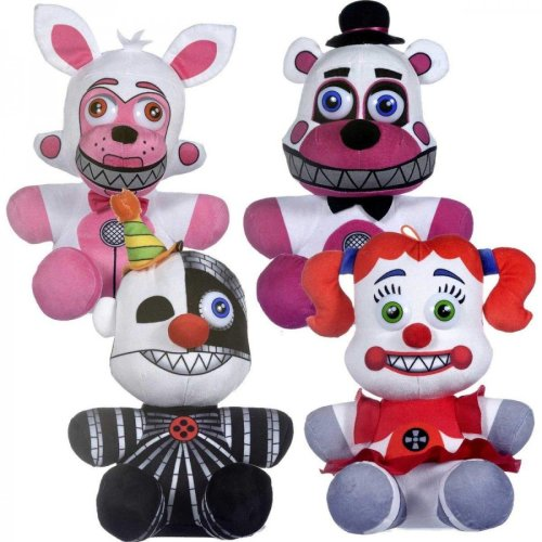 """Five Nights At Freddy's Sister Location 10"""" Plush (One Supplied)"""