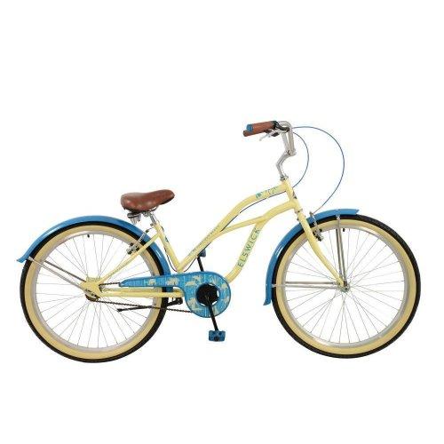 "Elswick Jumeirah Beach Cruiser Ladies Comfort Bike Bicycle 26"" Wheel E2617218"
