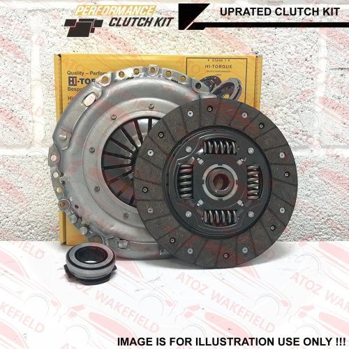 FOR MINI ONE COOPER 1.6 R50 R53 HI TORQ UPRATED PERFORMANCE CLUTCH KIT 3PC