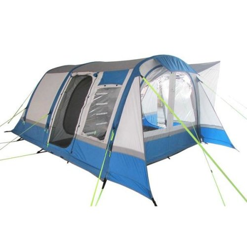 OLPRO Cocoon Breeze Camper van Driveaway Awning (Blue/ Grey)
