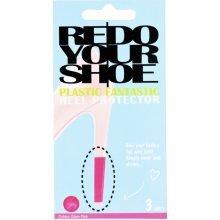 Glam Pink Redo Your Shoe Heel Renew Sticker - Redoyourshoe Plastic Fantastic Glam Pink Customise Shoes High Heels