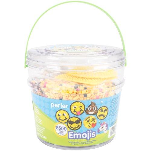 Perler Fused Bead Bucket Kit-Emoji