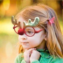 Cute Child Christmas Glasses