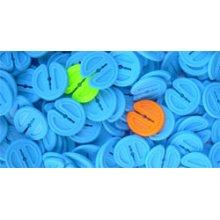 Pack Of 40 Multicoloured Twisty Pegs - Eddingtons Clothes -  twisty pegs pack 40 eddingtons clothes