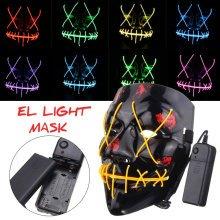 Halloween Horrific Party Masquerade LED Mask