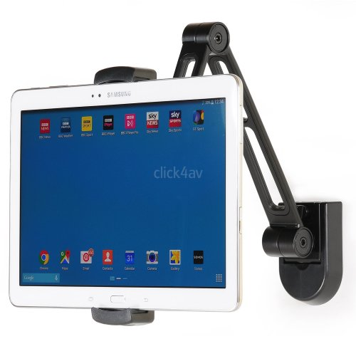 click4av Tablet iPad Wall Mount Kitchen Under Cabinet Bracket iPad Mini iPhone PAD2802