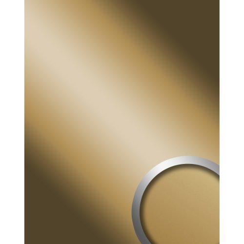 WallFace 11504 DECO GOLD Wall panel self-adhesive Mirror glossy gold 2.6 sqm