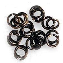 BRASS RINGS PAVONADO Ø 3mm (50 u.) - Artesania Latina - Accessories: No 6 Series