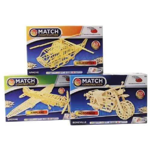 Grafix Matchstick Construction Set Assortment