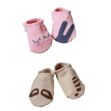 2 Pairs Kids/Baby/Toddler Socks Durable Home/Outdoor Socks