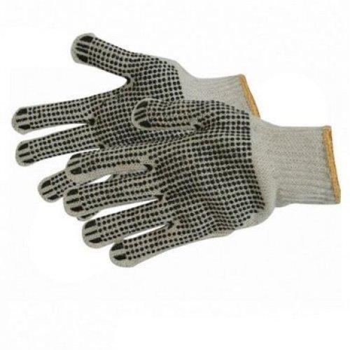 Silverline Double Sided Dot Gloves