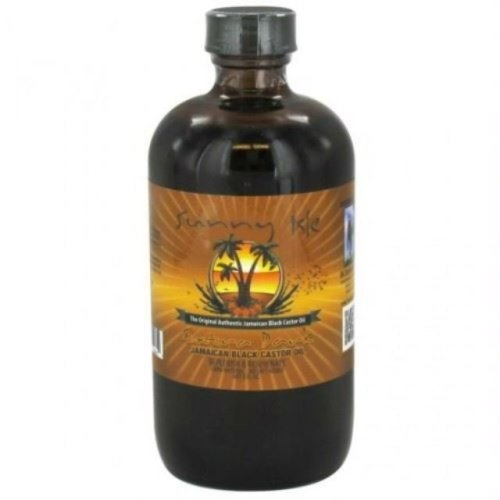 Sunny Isle Jamaican Extra Dark Black Castor Oil Regular 8oz. (236ml)