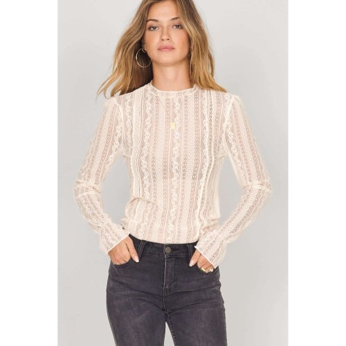 Amuse ALL ABOUT THAT lace knit