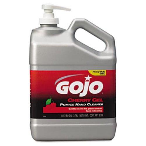 Gojo 2358-02 Cherry Gel Pumice Hand Cleaner  Cherry  1 gal