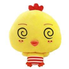 Lovely Chick Cartoon Warm Hands Pillow Soft Plush Doll Toy Throw Pillows Cushion, B