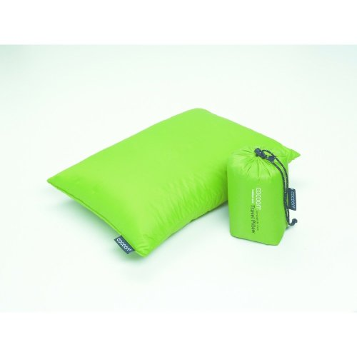 Cocoon Goose Down Pillow (Medium) (Green)