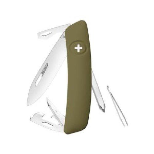 Swiza D04 Swiss Pocket Knife Multi-Tool  - Olive