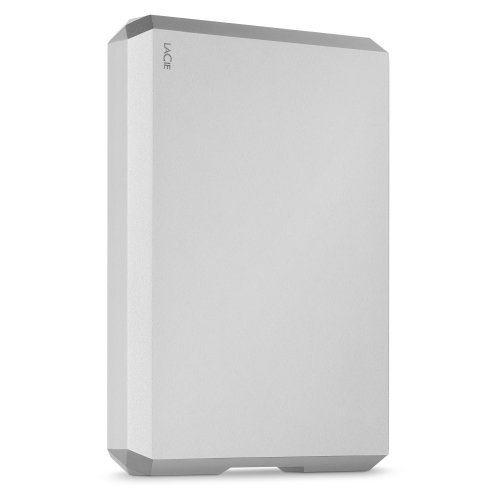 LaCie STHG4000400 4TB Mobile Drive - Moon Silver STHG4000400