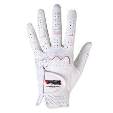 Summer Sun-proof Golf Gloves Women Protection Non-slip,White&Pink(#18)