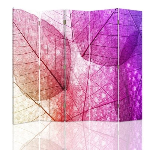 Lilac Leaves Screen/Room Divider