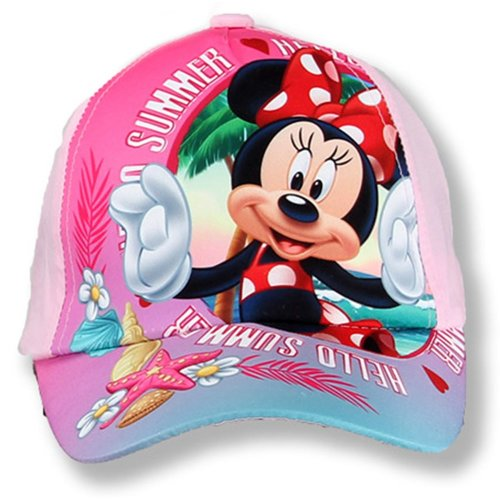 Minnie Mouse Baseball Cap - Pale Pink