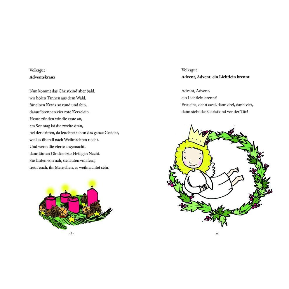 Moderne Weihnachtsgedichte.Das Große Kleine Buch Weihnachtsgedichte Für Kinder