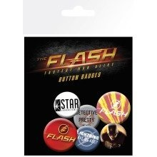 The Flash Mix Badge Pack