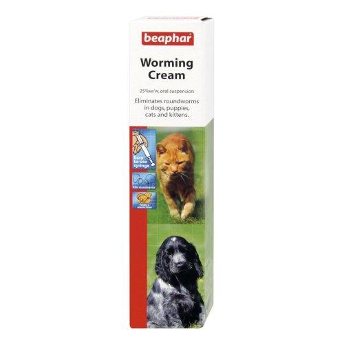 Beaphar Dog & Cat Worming Cream 18g (Pack of 6)