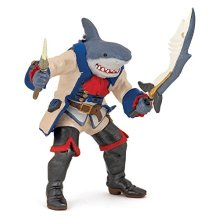 "Papo 39460 ""Shark Mutant Pirate"" Figure"