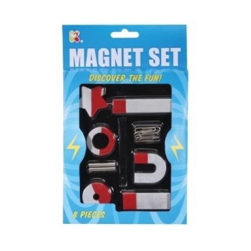 8 Piece Magnet Toy Set With Magnetic Objects - Fun 2 Pieces Classic Horseshoe -  set magnet fun toy 2 8 pieces classic horseshoe learning science 1