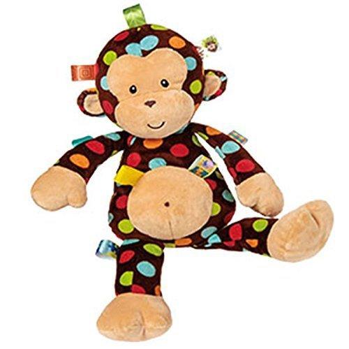 Mary Meyer 45 cm Taggies Dazzle Dots Big Monkey Plush Toy