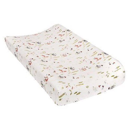 TrendLab 101386 Winter Woods Deluxe Flannel Changing Pad Cover
