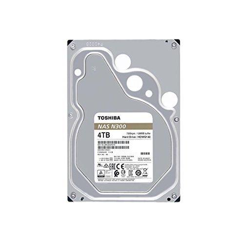 Toshiba N300 4TB NAS 3 5 Inch Internal Hard Drive SATA 6 Gbs 7200 RPM 128MB HDWQ140XZSTA
