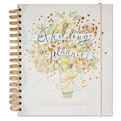Rachel Ellen Wedding Collection Hardback Wedding Planner Journal