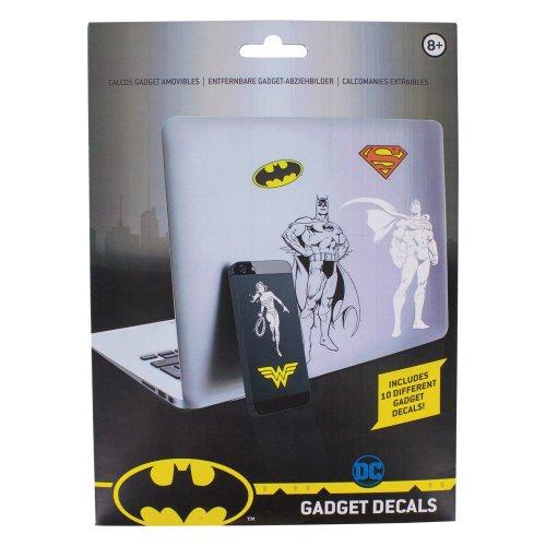 DC Comics Batman Superman Joker Gadget Decals - reusable & waterproof Stickers