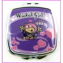 Wicked Girl Compact Mirror
