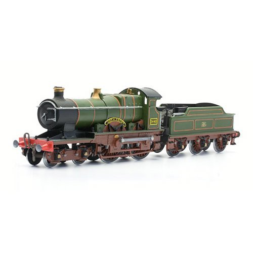 City of Truro, BR Steam Locomotive - Dapol Kitmaster C061 - OO plastic kit